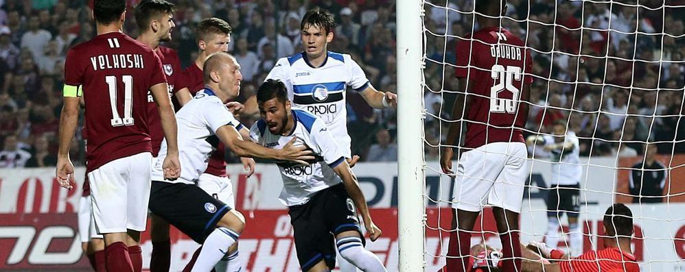 Sarajevo-Atalanta 0-8 - La cronaca C'è gloria anche per Barrow: tripletta