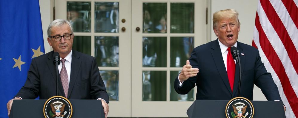 Juncker a Usa, aumentiamo import gas ma riducete burocrazia