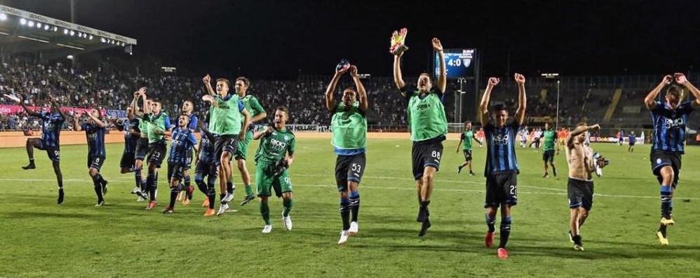 Papu trascinatore, Bergamo festeggia Vittoria nel match d'esordio dopo 10 anni