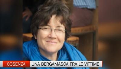 C'è anche una bergamasca fra le vittime della tragedia in Calabria