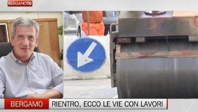 Rientro in città tra ruspe e lavori Ecco i cantieri ancora aperti a Bergamo
