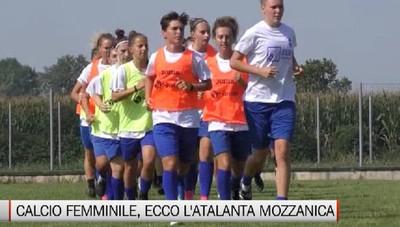 Calcio femminile, il raduno dell'Atalanta Mozzanica