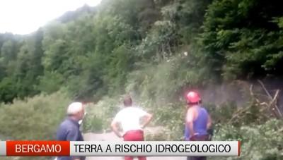 Frane e smottamenti - Bergamasca, terra ad alto rischio