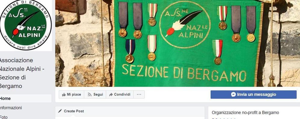 Alpini, clonata la pagina Facebook «Attenzione, c'è il logo ma non è ufficiale»