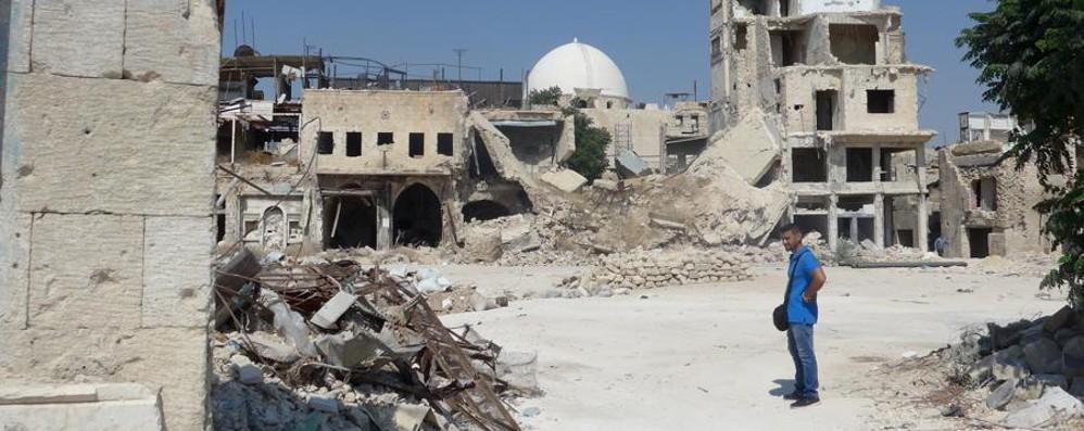 «Siria, l'assurdità della guerra» Su L'Eco il reportage di Giorgio Fornoni