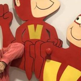 Bozzetto «Supervip» a Mantova Al Festivaletteratura il suo primo fumetto