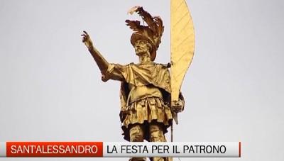 Sant'Alessandro, domani festa per il patrono di Bergamo