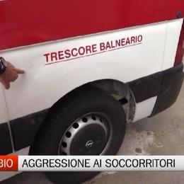 Zandobbio, aggressione all'equipaggio dell'ambulanza
