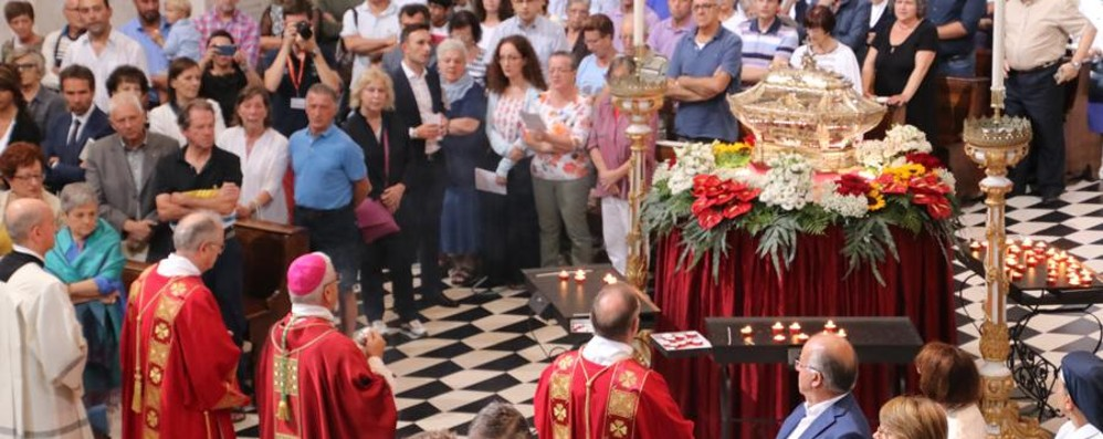 Bergamo, la messa di Sant'Alessandro Ascolta l'omelia del vescovo Beschi