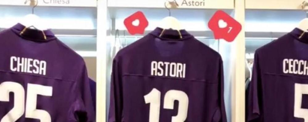 «Davide è sempre con noi» La Fiorentina ricorda Astori