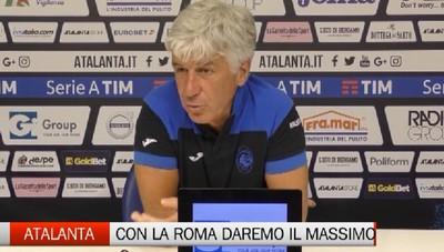 La conferenza stampa di mister Gian Piero Gasperini