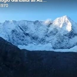L'alba dall'Albani e la neve sull'Adamello Termometro giù, ma torna il sole - Video