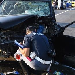 Tre vittime  sulla strada, tragico bilancio Sono 41 da inizio anno tra città e provincia