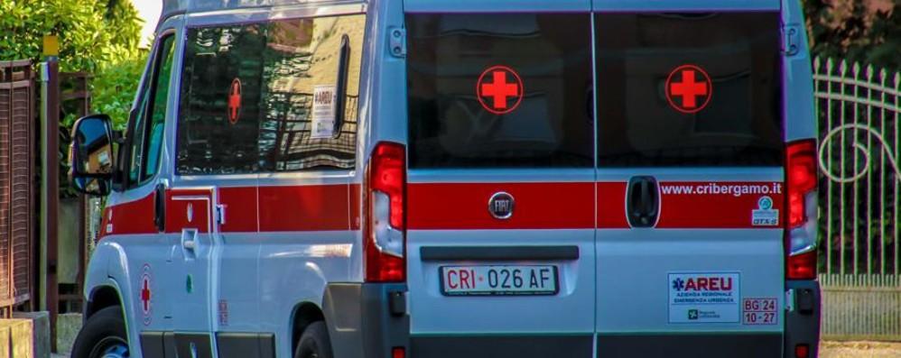 Incidente sulla Dalmine-Villa d'Almé Sei persone ferite, traffico in tilt