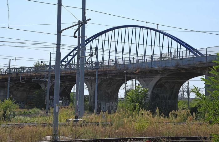 Il ponte Baslini a Treviglio