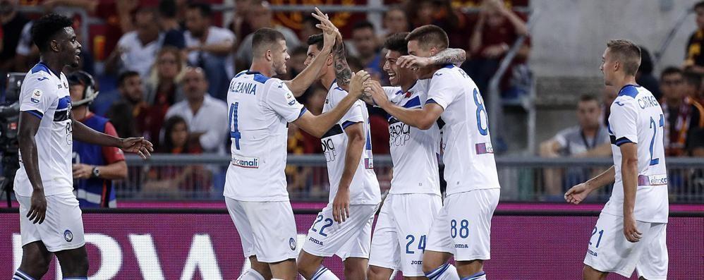Roma-Atalanta 3-3, beffa Capitale Manolas trova il pari nel finale