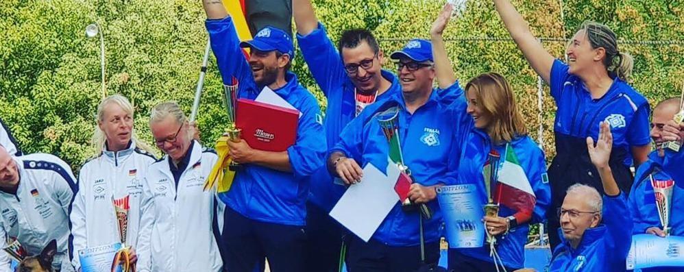 Cani da soccorso sul podio a Zatec Bergamaschi campioni del mondo