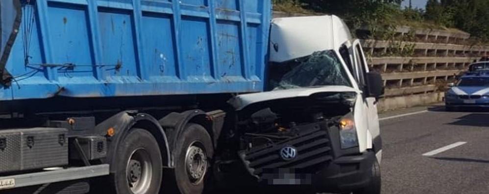 Incidente mortale sull'Asse a Seriate La vittima è un uomo di 30 anni