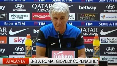 Roma-Atalanta 3-3, l'analisi post partita di Gasperini