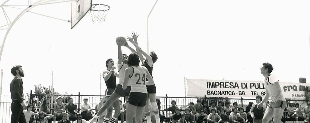 I primi 80 anni del «Galbu» 60 vissuti sui campi da basket