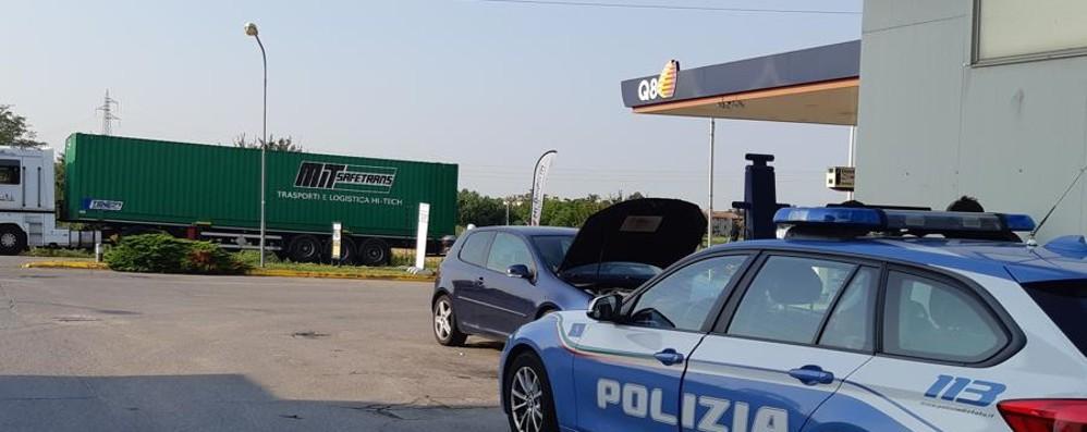 Auto contro moto a Osio Sotto Ferito un 48enne, lunghe code