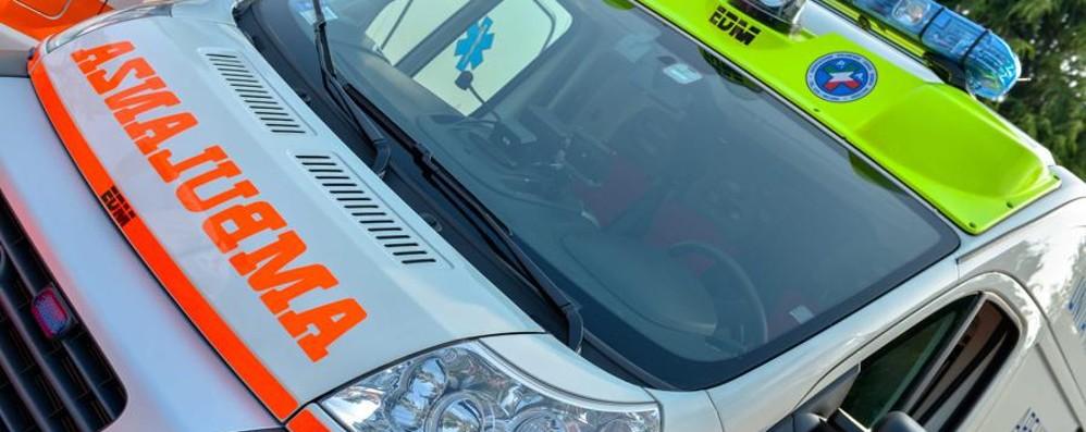 Incidente sulla Rivierasca a Bottanuco In ospedale una ragazza di 23 anni