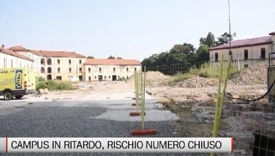 Ritardo campus universitario della Montelungo, il Rettore:  si rischia il numero chiuso