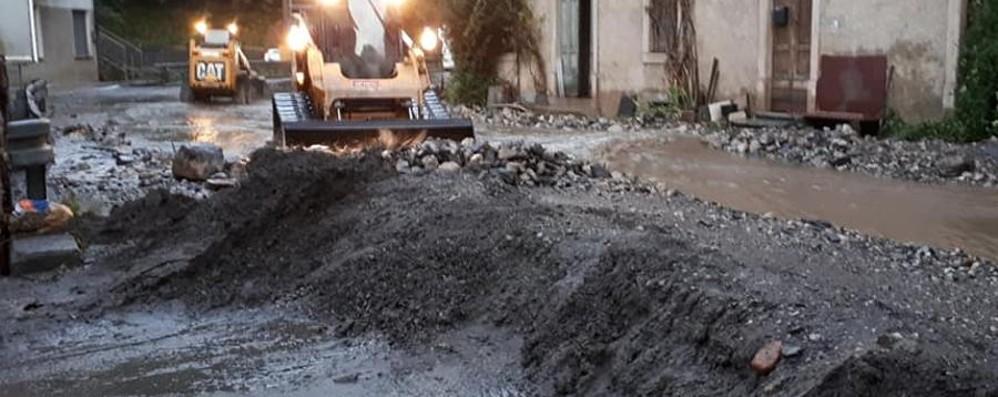 Algua, il dramma del panificio -Foto Invaso dal fango due volte in tre mesi