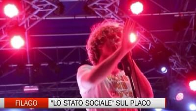Filago: lo Stato Sociale sul palco di Filagosto