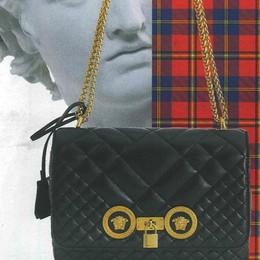 I cataloghi di Versace su carta da giornale Realizzati nel Centro stampa de «L'Eco»