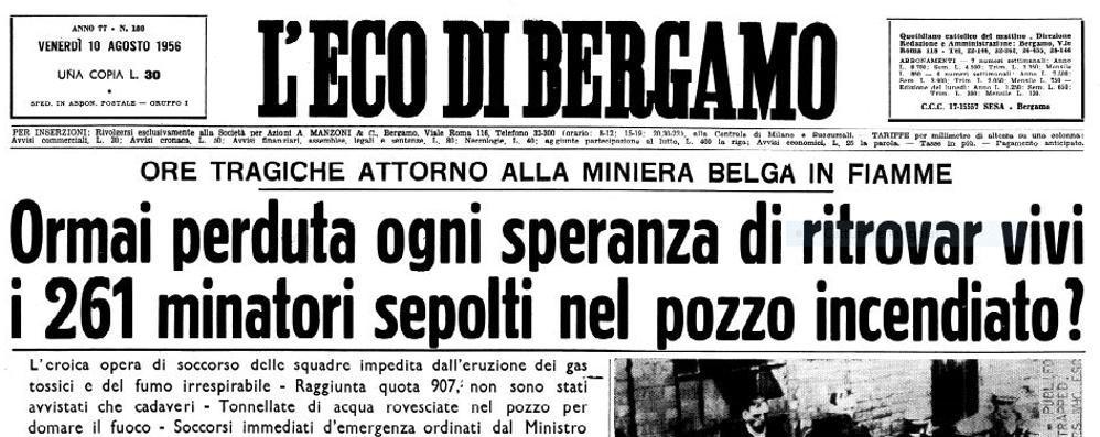 Marcinelle, 62 anni fa la tragedia 136 emigrati italiani morti nelle miniere