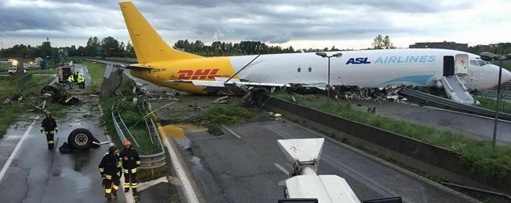 Cargo finito fuoripista a Orio al Serio L'inchiesta: «Fu errore umano»