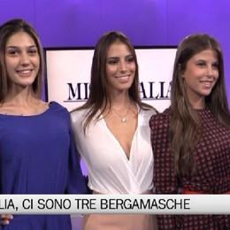 Miss Italia, tre bergamasche alle prefinali Ecco Emma, Patrizia e Silvia