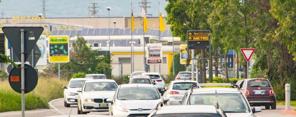 Vuoi evitare code e traffico? Rallentamenti in A4 a Trezzo