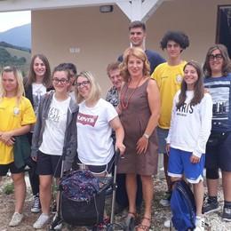 «La nostra estate tra i terremotati» Il racconto dei giovani di Azzano