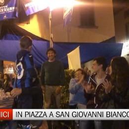 Raimondi al Club Amici Atalanta San Giovanni Neroblu