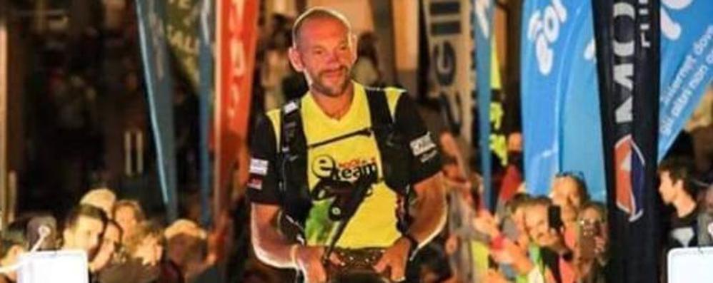 Corsa in montagna, Bosatelli eroico Acciaccato, percorre 330km in 80 ore