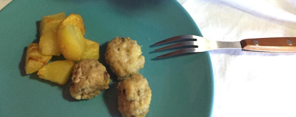 Polpette di pollo e pistacchi