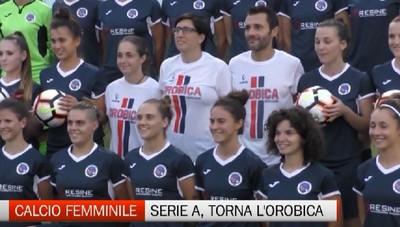 Calcio femminile, torna l'Orobica in serie A