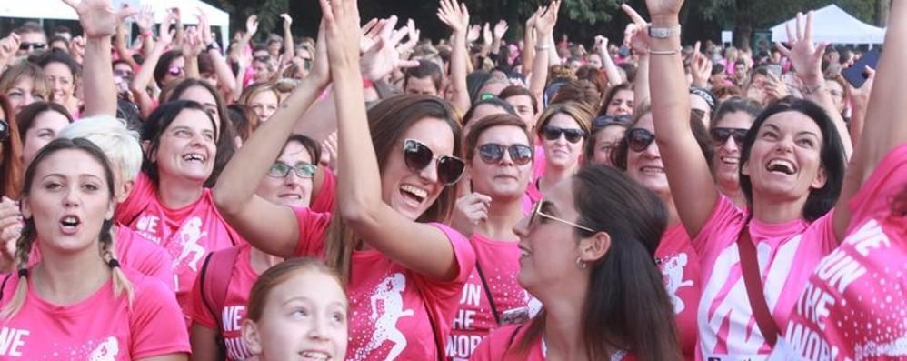 Corsa in rosa contro le violenze