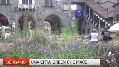 Bergamo, la città verde piace ai tutti