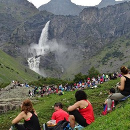 Le cascate del Serio incantano sempre L'ultimo salto il 14 ottobre - Video