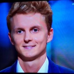Adriano di Leffe e le pannocchie La Val Gandino in tv con Amadeus