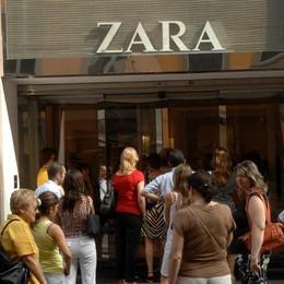 Bergamo, cerca di rubare da Zara Arrestato 36enne in via XX settembre