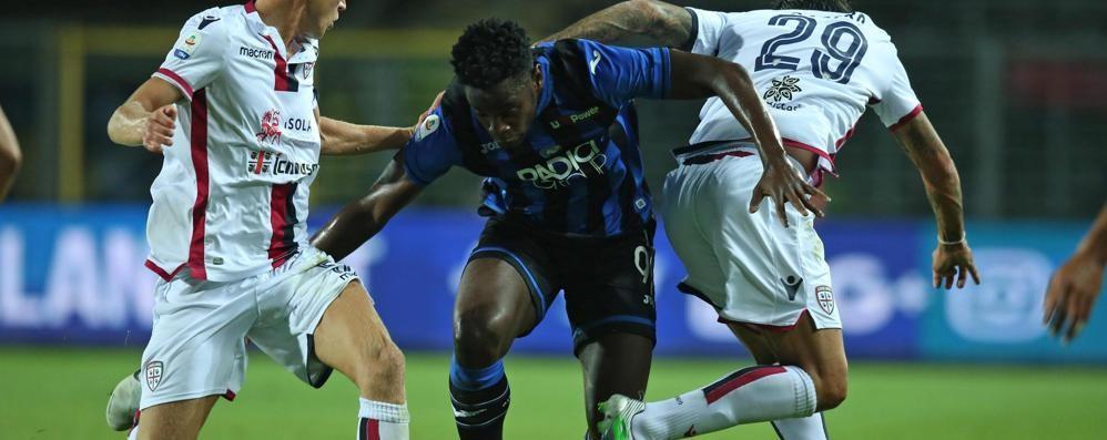 Atalanta-Cagliari 0-1 - La cronaca Barella inganna Berisha su punizione
