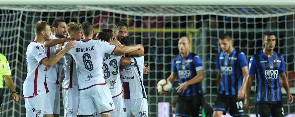 Atalanta spaesata, vince il Cagliari Momento no per i nerazzurri