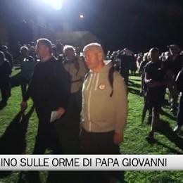 Pellegrinaggio notturno: in cammino sulle orme di Papa Giovanni