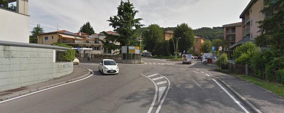 Tram interrato con doppio binario Come sarà la T2 per Villa d'Almè