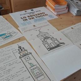 «Lo sguardo in un tocco» I monumenti di Bergamo prendono vita