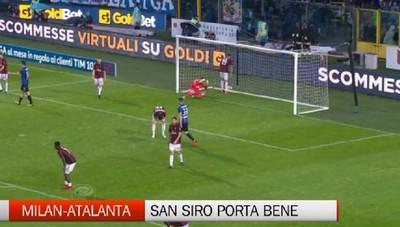 Milan-Atalanta, San Siro porta bene
